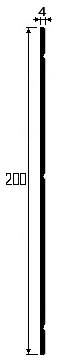 Отбойная доска TS-200 для стен